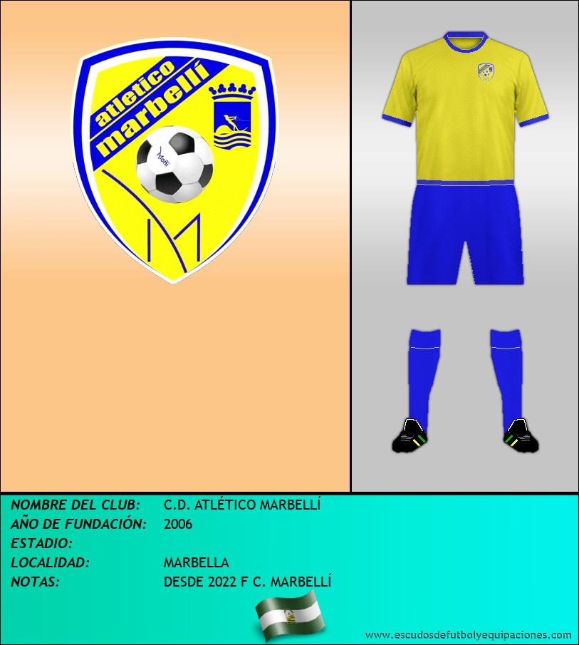 Escudo de C.D. ATLÉTICO MARBELLÍ