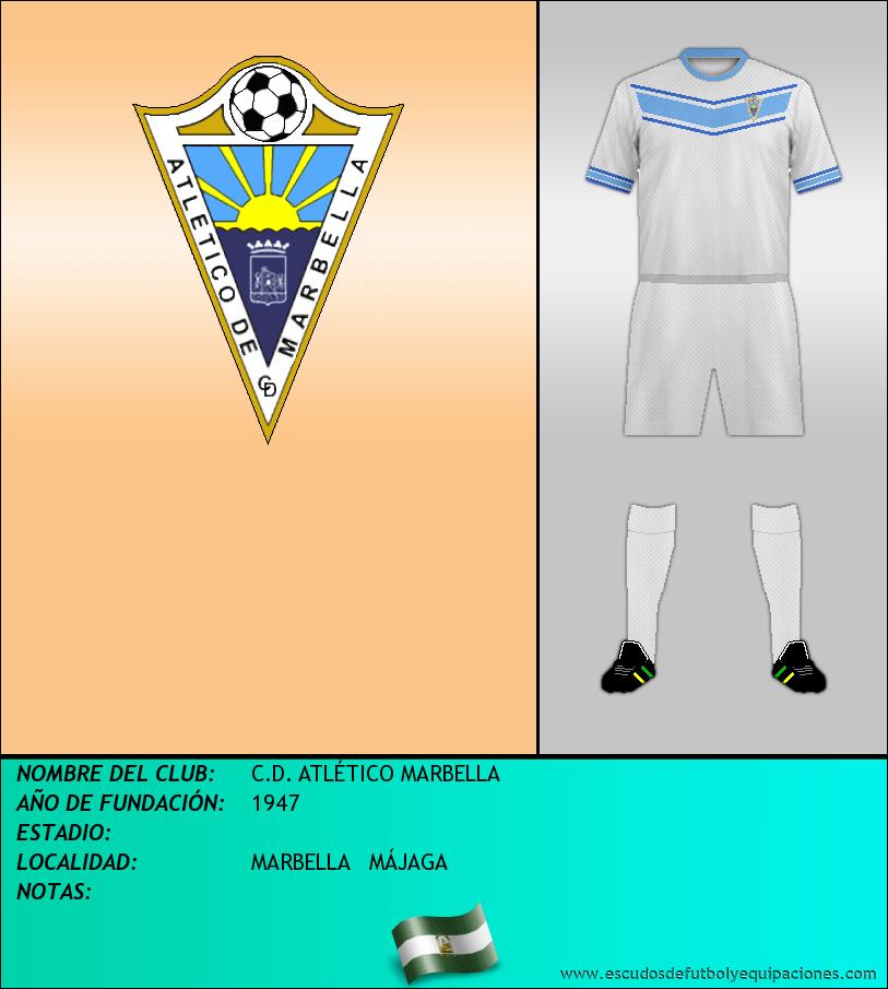 Escudo de C.D. ATLÉTICO MARBELLA