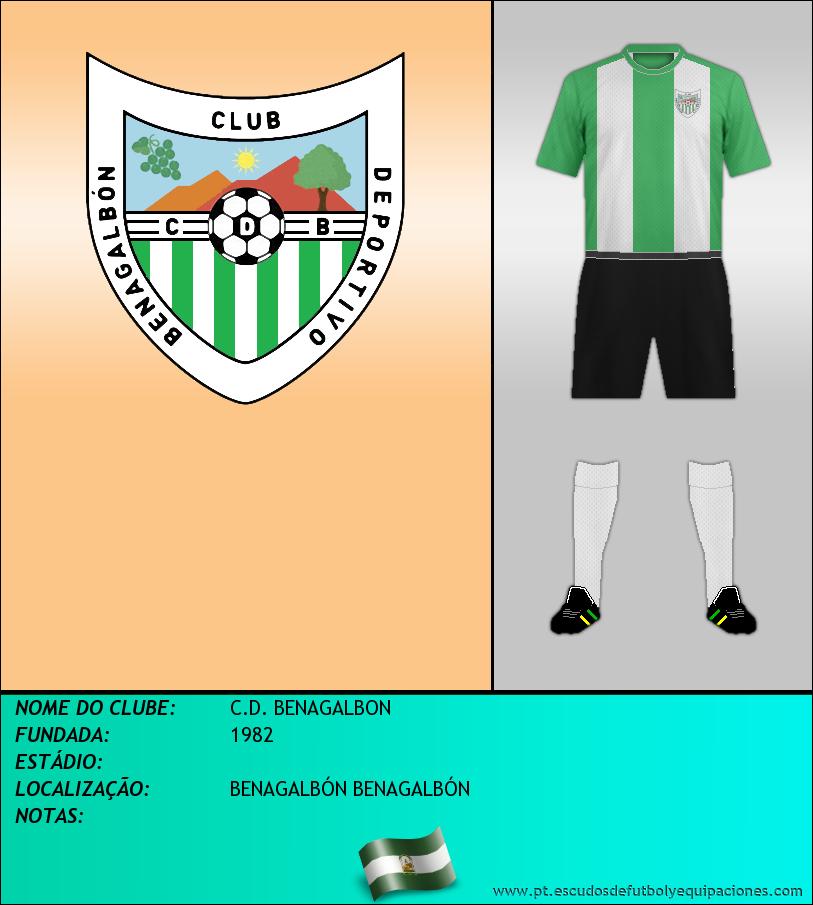 Escudo de C.D. BENAGALBON