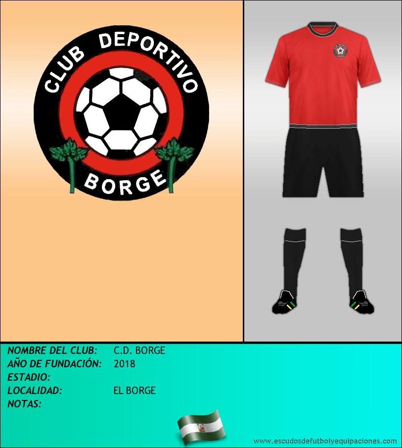 Escudo de C.D. BORGE
