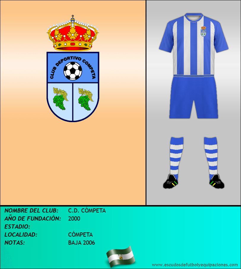 Escudo de C.D. CÓMPETA