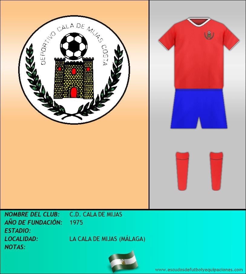 Escudo de C.D. CALA DE MIJAS
