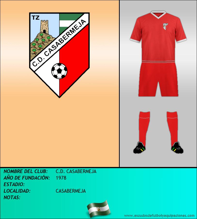 Escudo de C.D. CASABERMEJA
