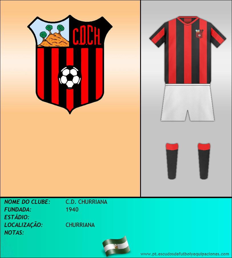 Escudo de C.D. CHURRIANA