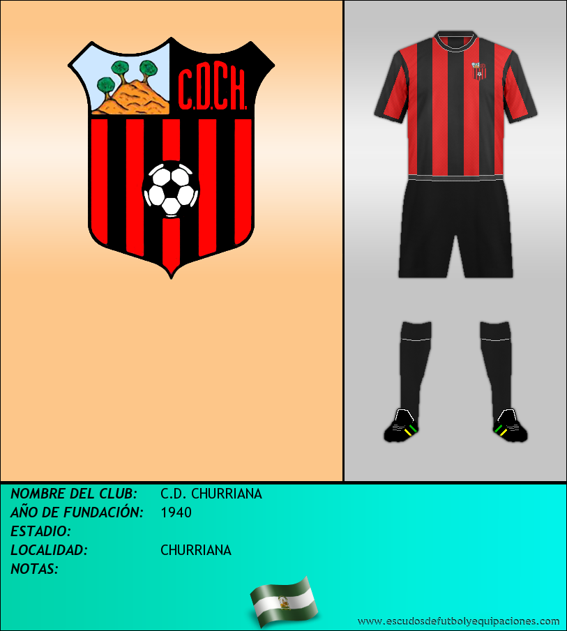 Escudo de C.D. CHURRIANA