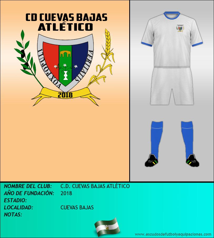 Escudo de C.D. CUEVAS BAJAS ATLÉTICO