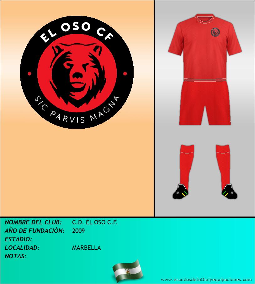 Escudo de C.D. EL OSO C.F.