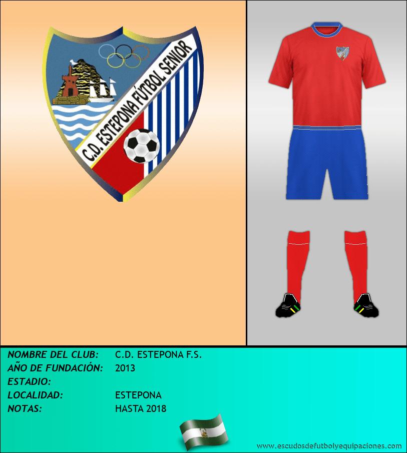 Escudo de C.D. ESTEPONA F.S.
