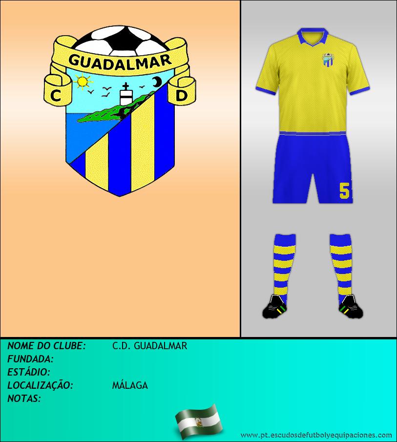 Escudo de C.D. GUADALMAR