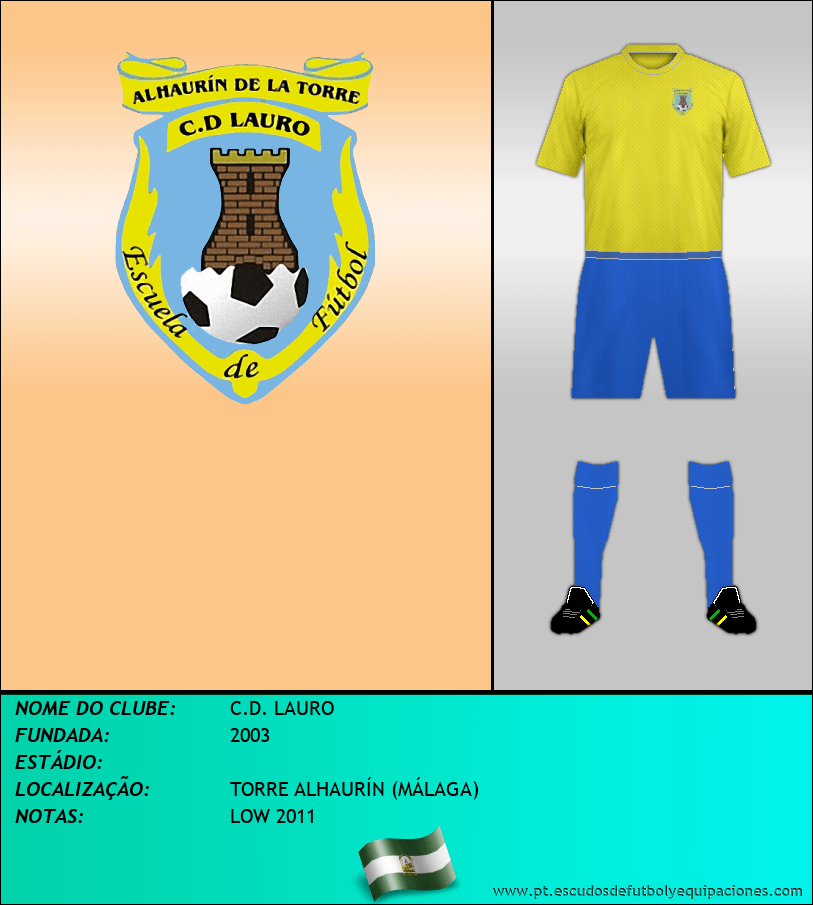 Escudo de C.D. LAURO