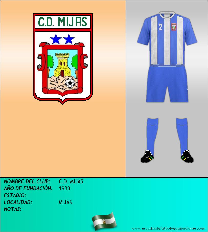 Escudo de C.D. MIJAS