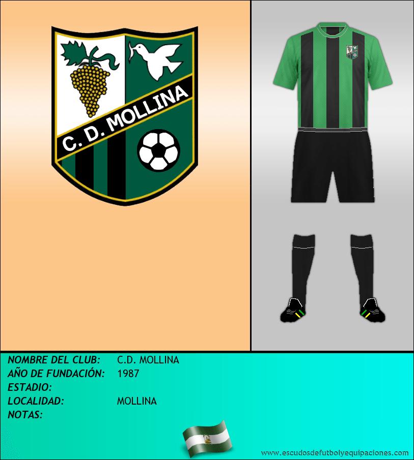 Escudo de C.D. MOLLINA