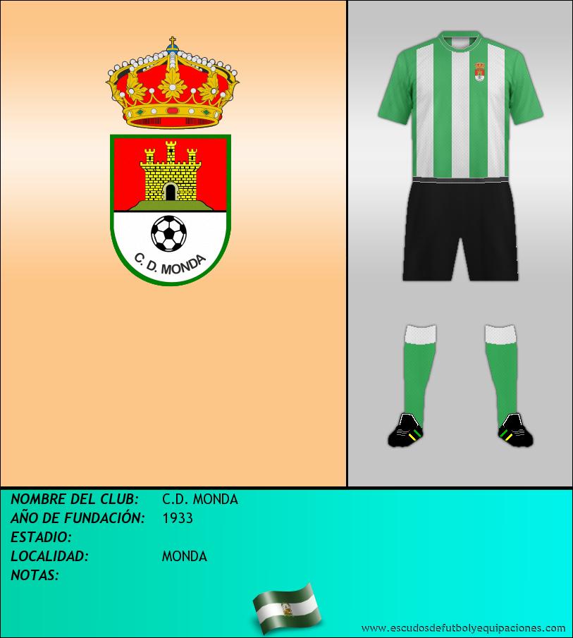 Escudo de C.D. MONDA
