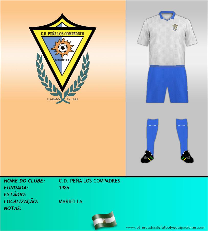 Escudo de C.D. PEÑA LOS COMPADRES