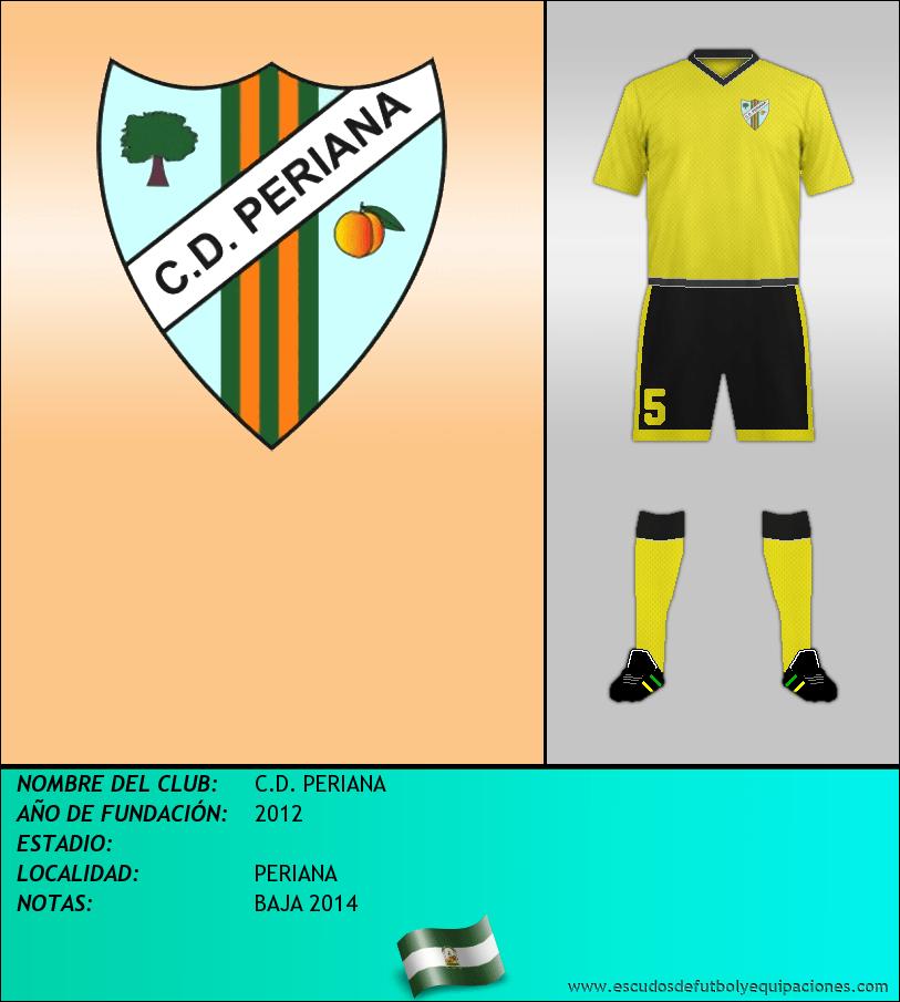 Escudo de C.D. PERIANA