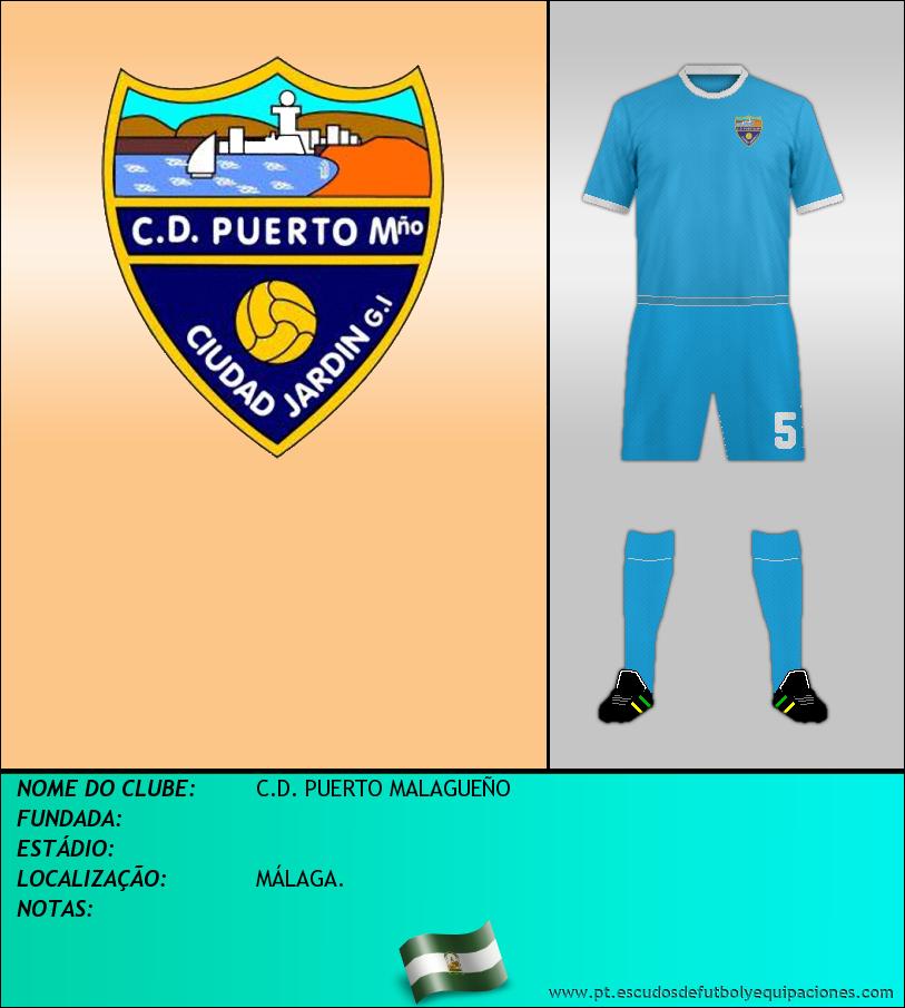 Escudo de C.D. PUERTO MALAGUEÑO