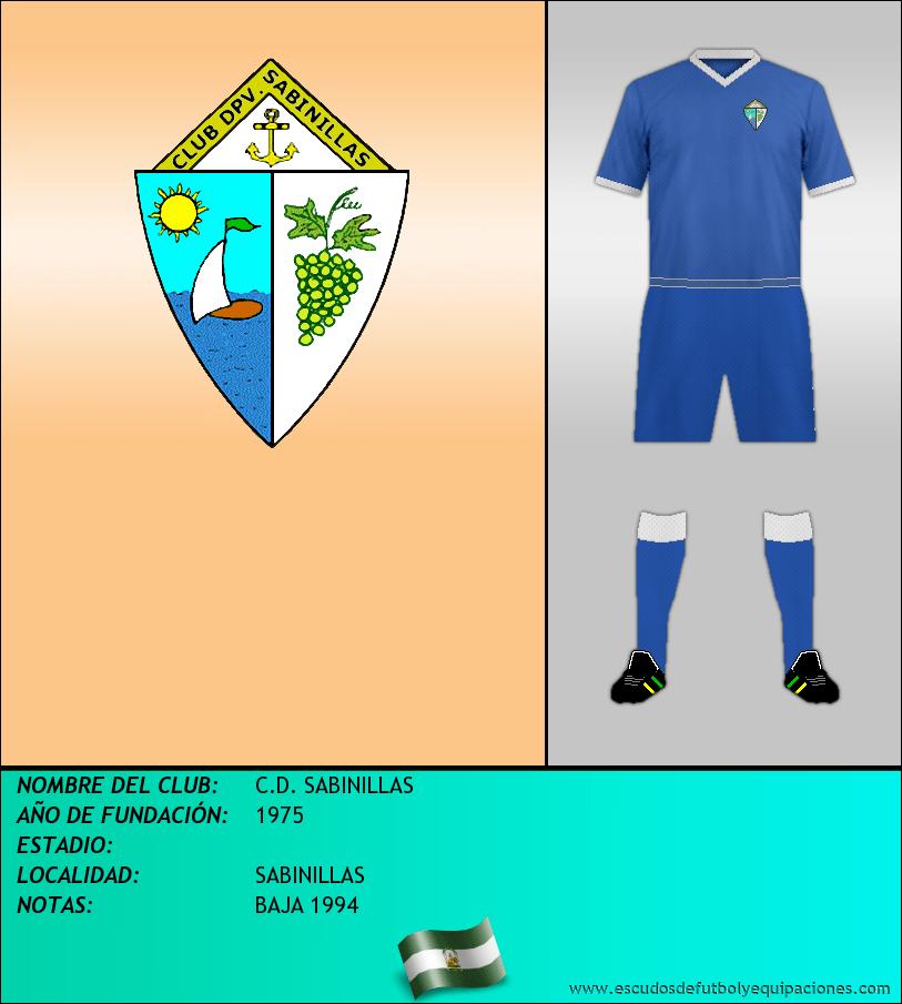Escudo de C.D. SABINILLAS