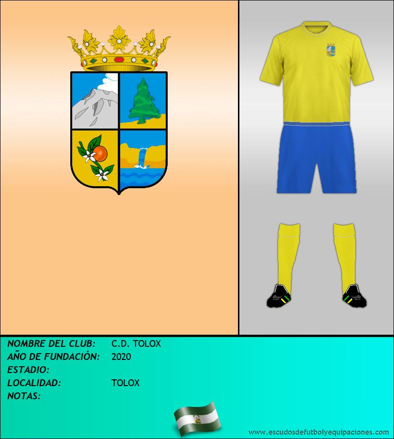 Escudo de C.D. TOLOX