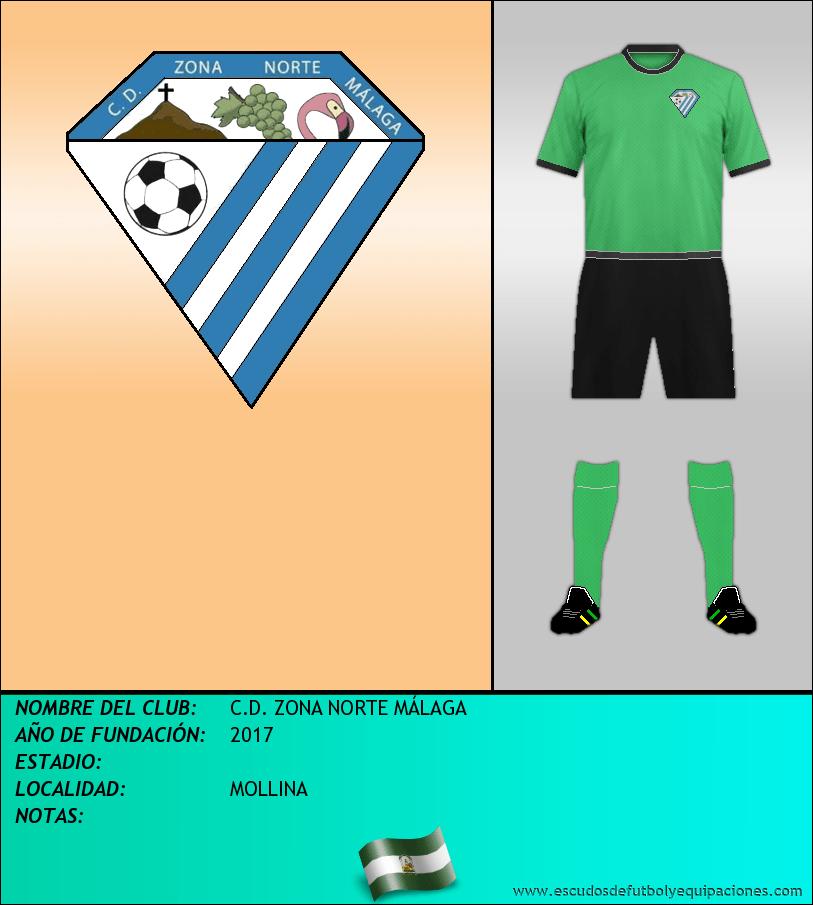 Escudo de C.D. ZONA NORTE MÁLAGA