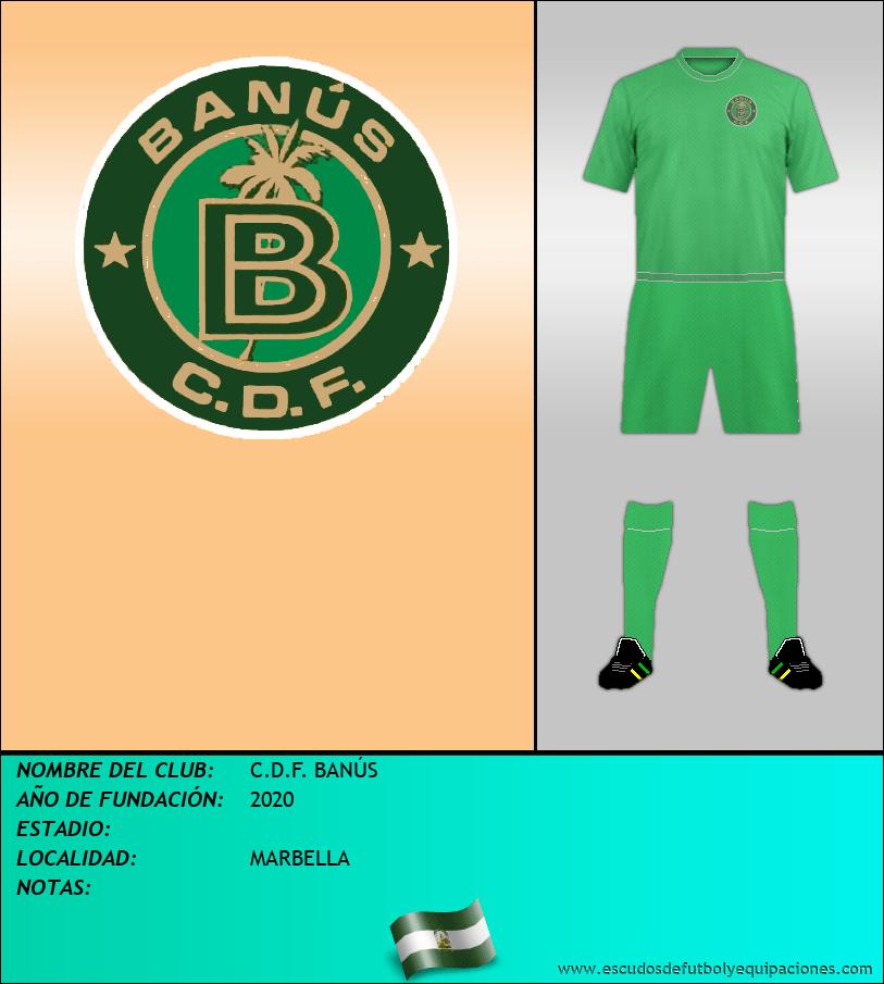 Escudo de C.D.F. BANÚS