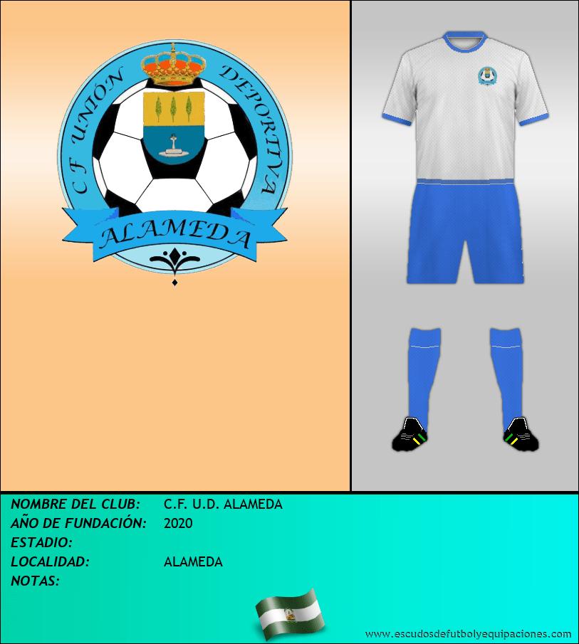 Escudo de C.F. U.D. ALAMEDA