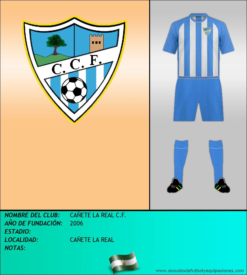Escudo de CAÑETE LA REAL C.F.