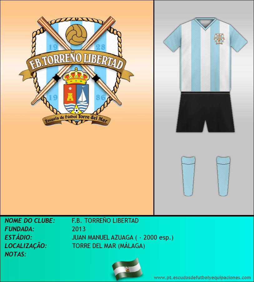 Escudo de F.B. TORREÑO LIBERTAD