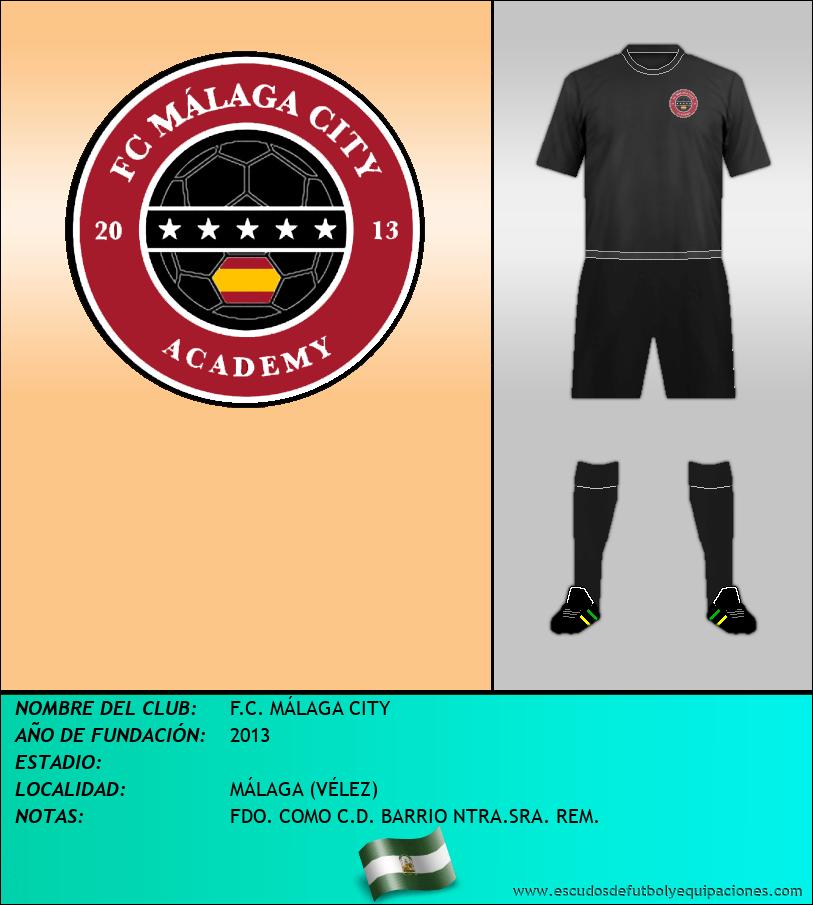 Escudo de F.C. MÁLAGA CITY