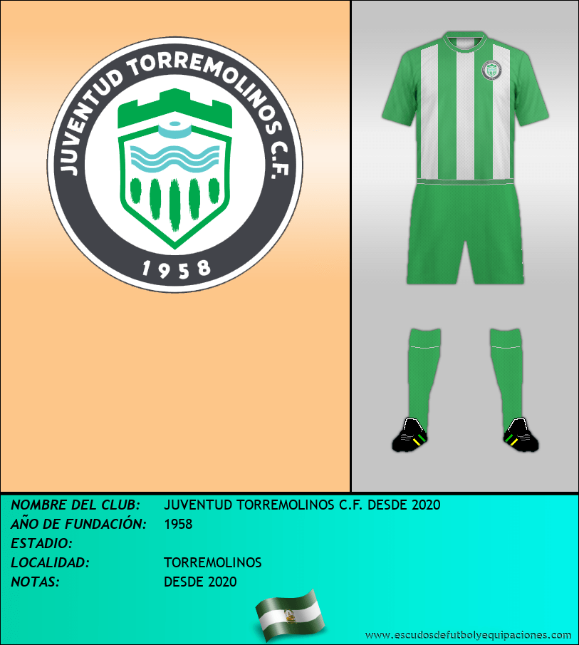 Escudo de JUVENTUD TORREMOLINOS C.F. DESDE 2020