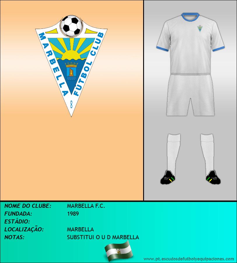 Escudo de MARBELLA F.C.
