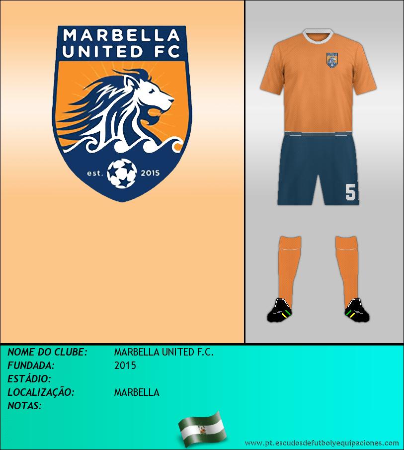 Escudo de MARBELLA UNITED F.C.