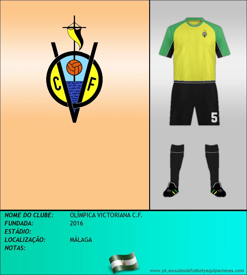 Escudo de OLÍMPICA VICTORIANA C.F.