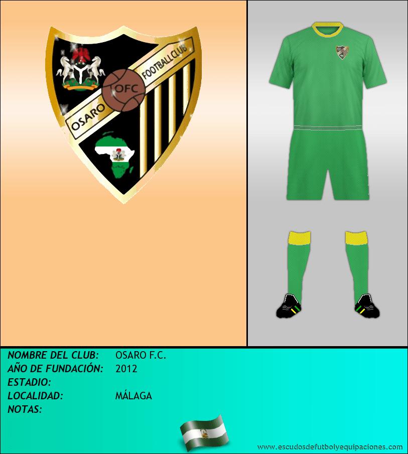 Escudo de OSARO F.C.