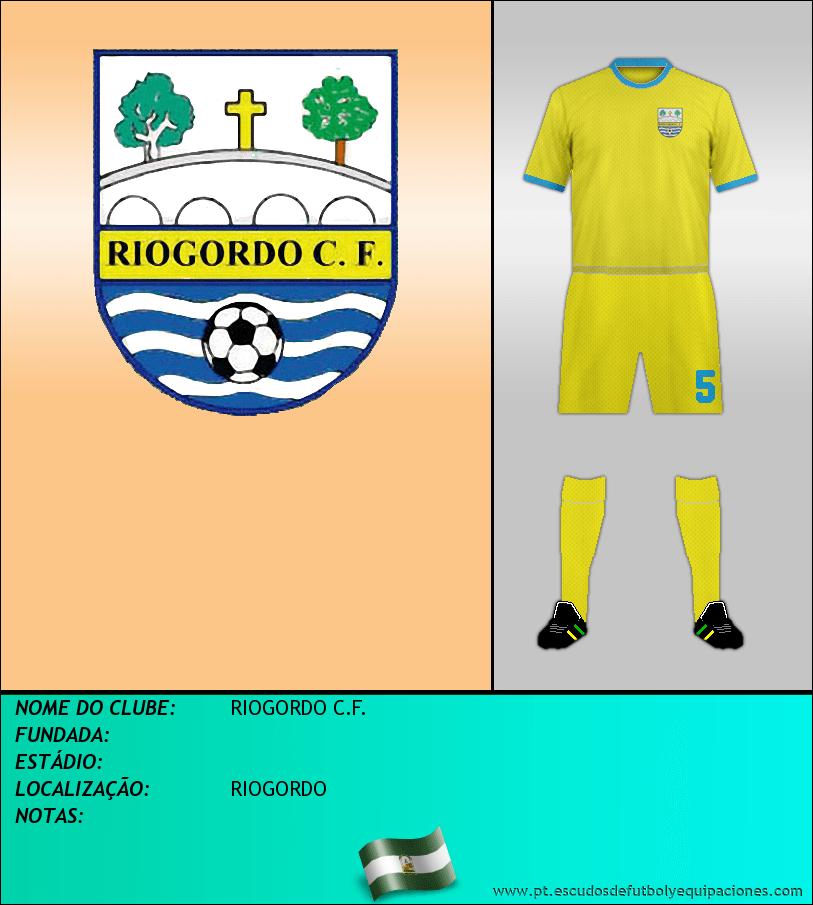 Escudo de RIOGORDO C.F.