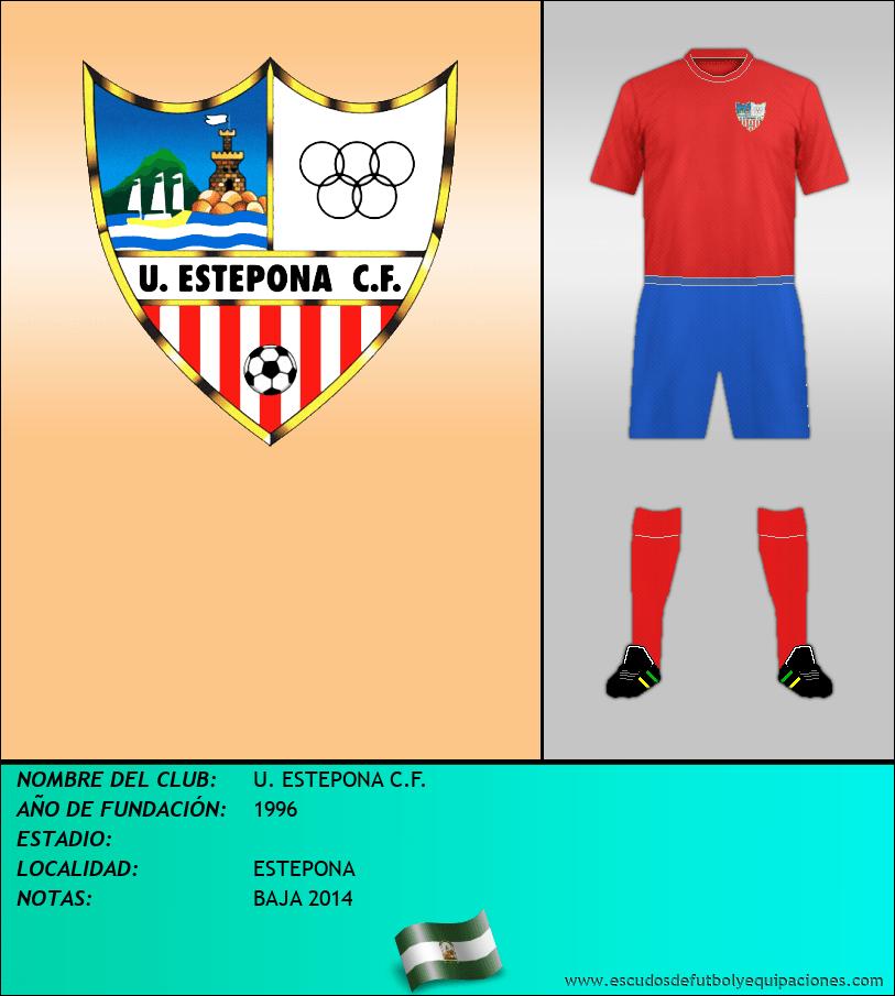 Escudo de U. ESTEPONA C.F.