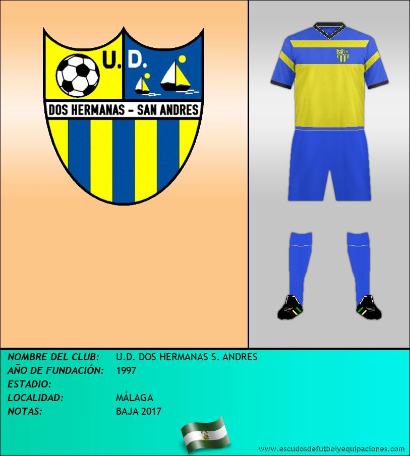 Escudo de U.D. DOS HERMANAS S. ANDRES