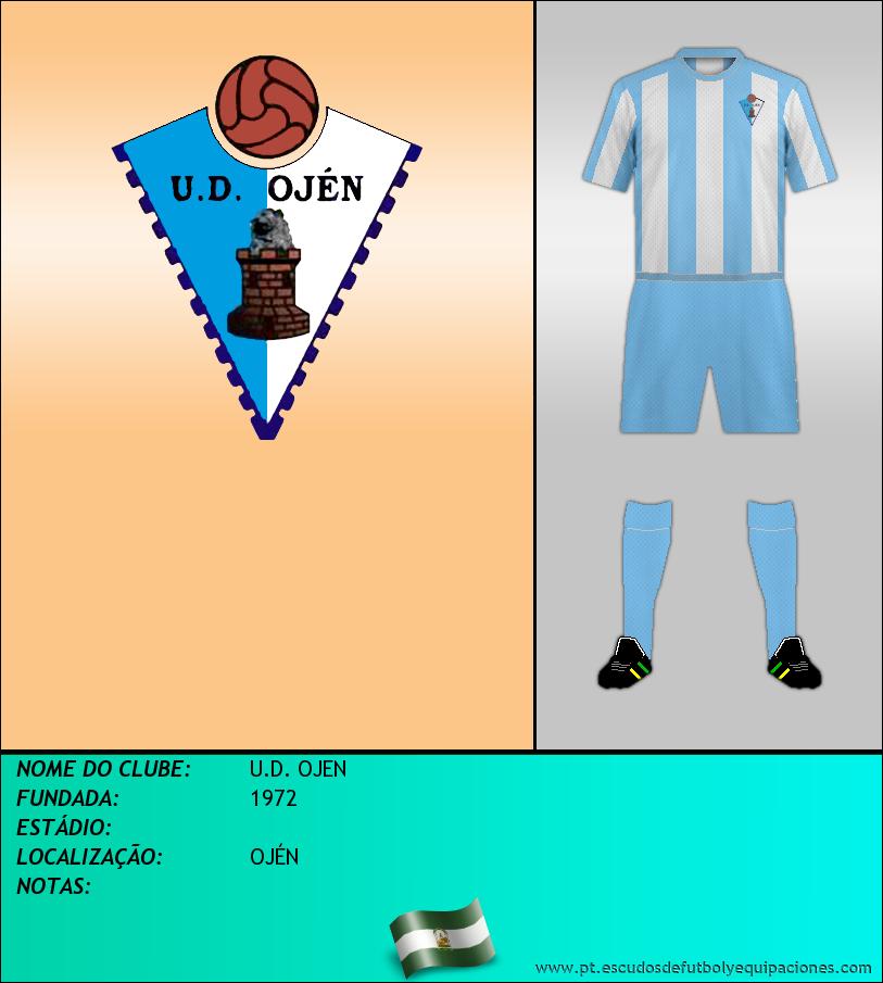 Escudo de U.D. OJEN