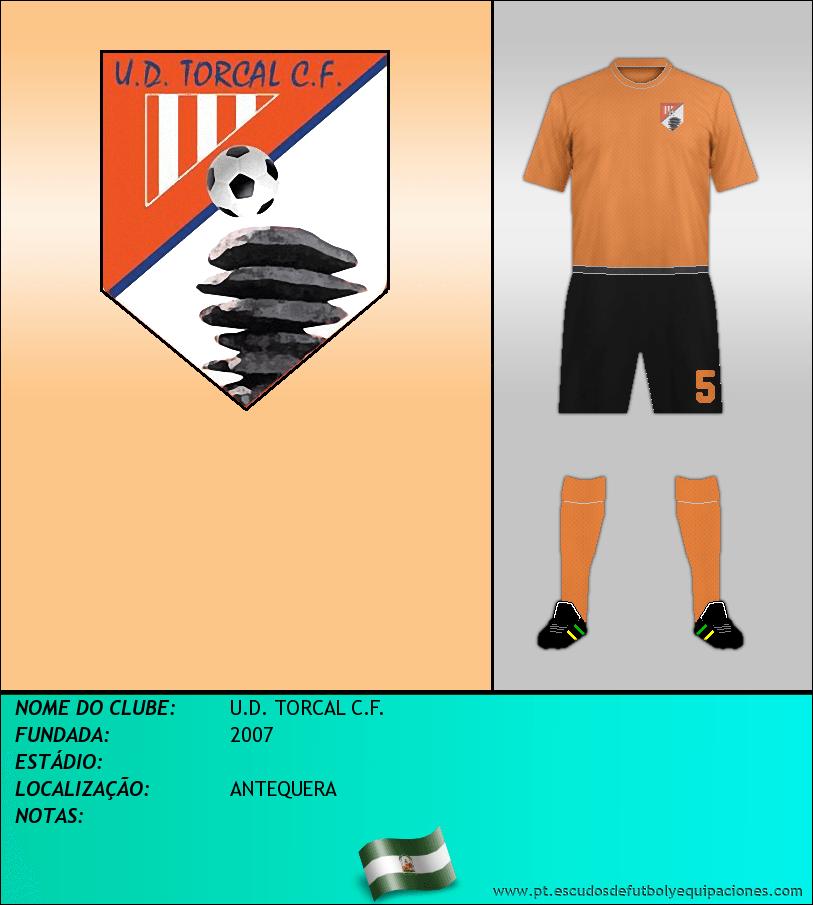 Escudo de U.D. TORCAL C.F.