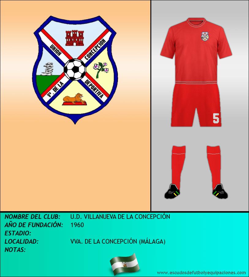 Escudo de U.D. VILLANUEVA DE LA CONCEPCIÓN