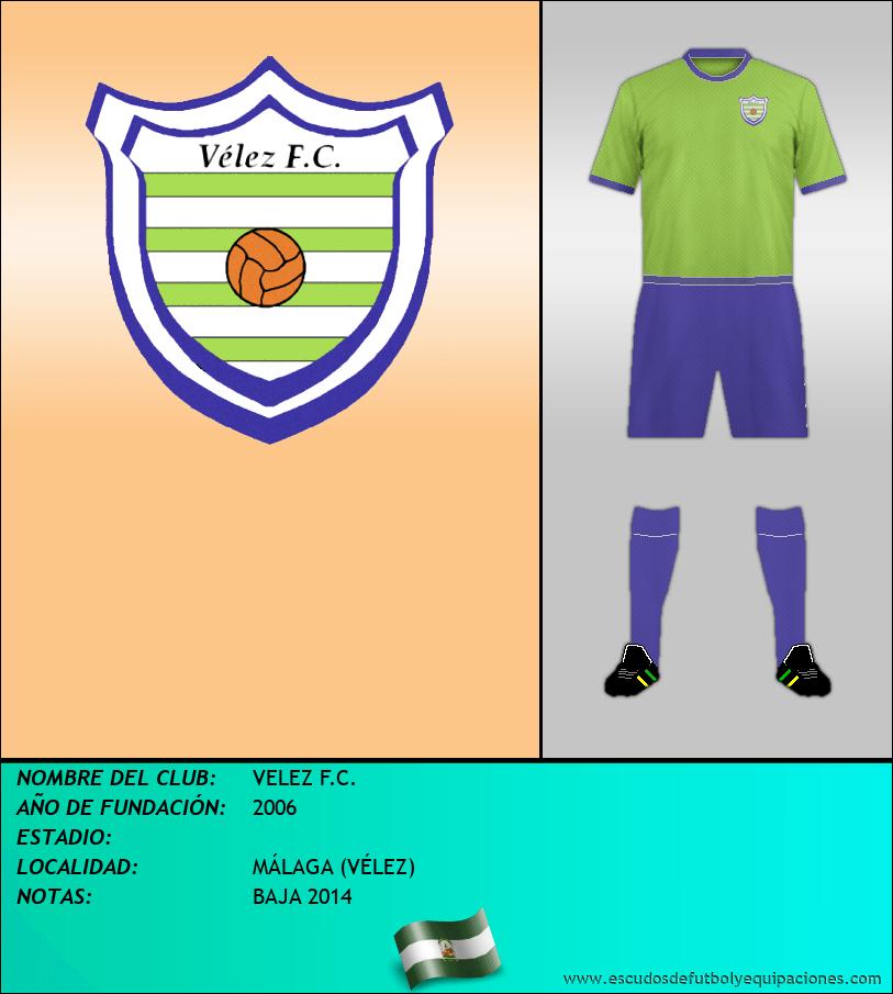 Escudo de VELEZ F.C.