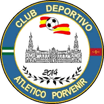 Escudo de C.D. ATLÉTICO PORVENIR. (ANDALUCÍA)