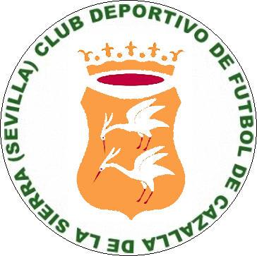 Escudo de C.D. DE F. CAZALLA DE LA SIERRA (ANDALUZIA)