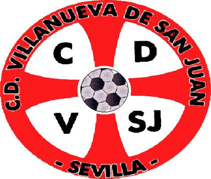 Escudo de C.D. VILLANUEVA DE SAN JUAN (ANDALUCÍA)