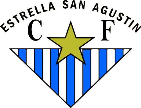 Escudo de ESTRELLA S. AGUSTIN CF (ANDALUCÍA)