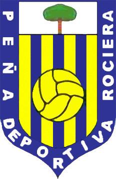 Escudo de PEÑA DEPORTIVA ROCIERA (ANDALUCÍA)