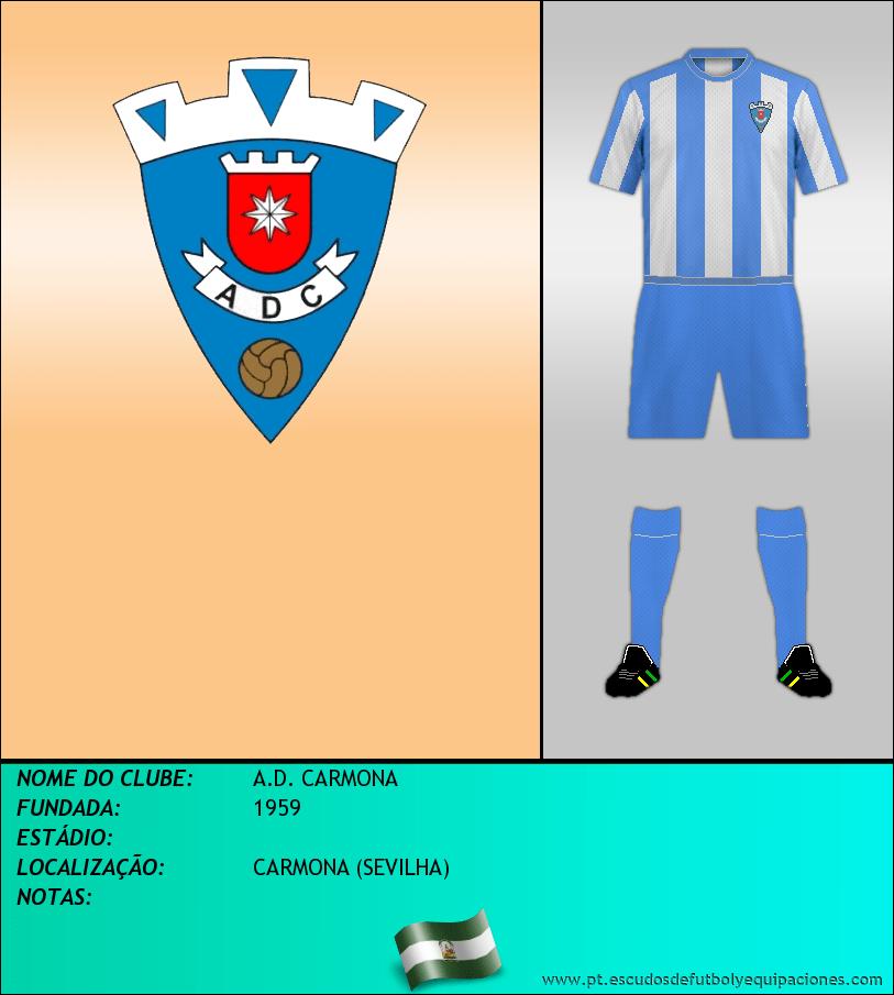 Escudo de A.D. CARMONA