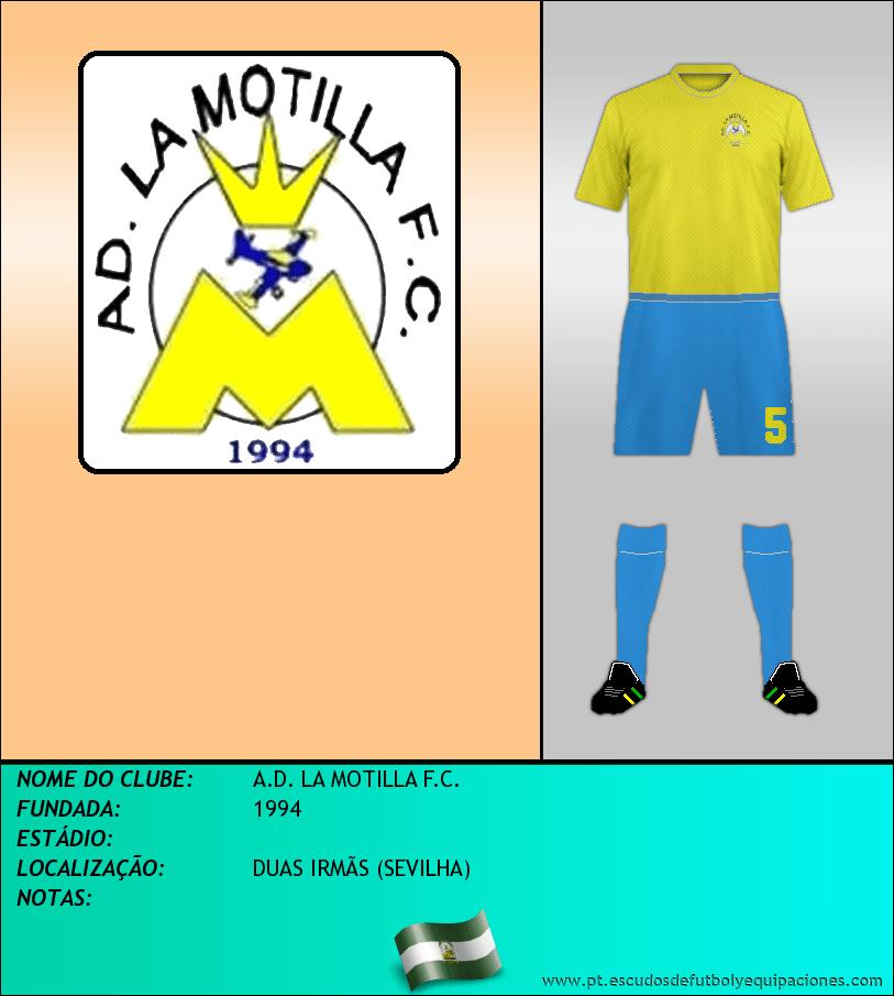 Escudo de A.D. LA MOTILLA F.C.