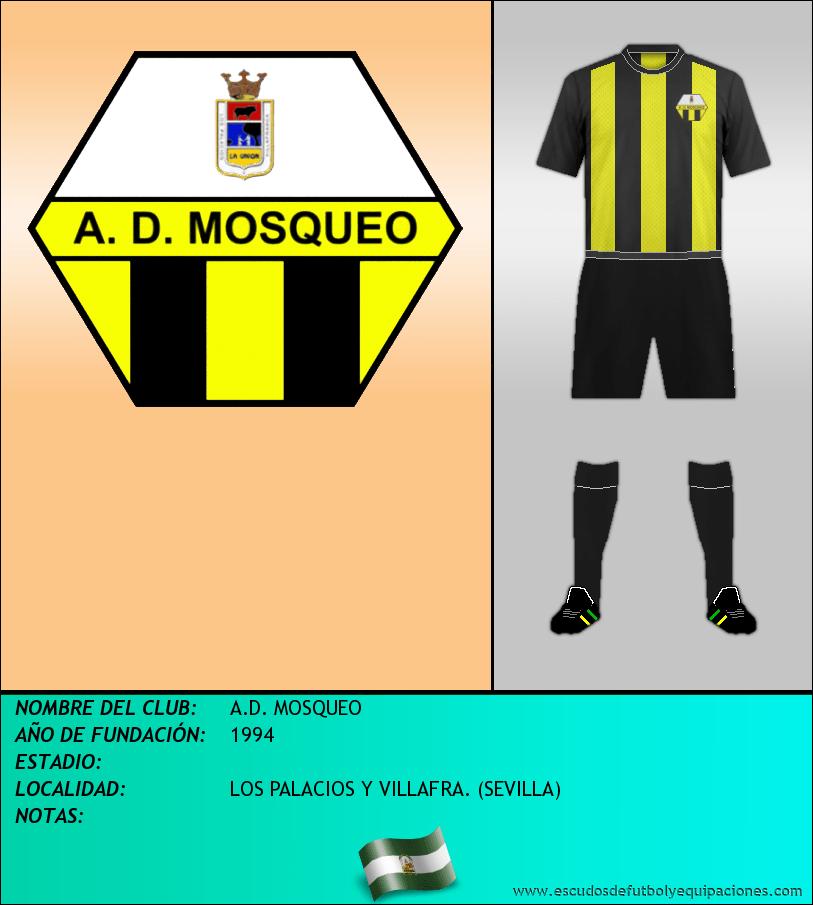 Escudo de A.D. MOSQUEO