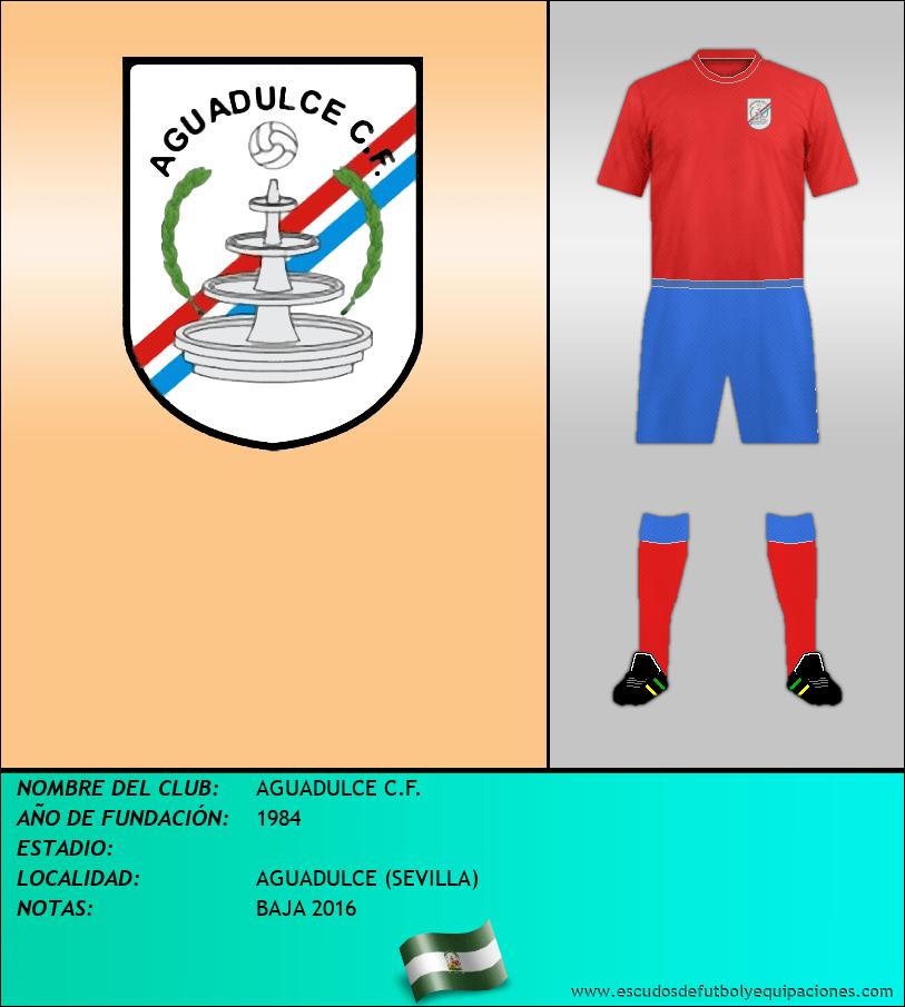 Escudo de AGUADULCE C.F.
