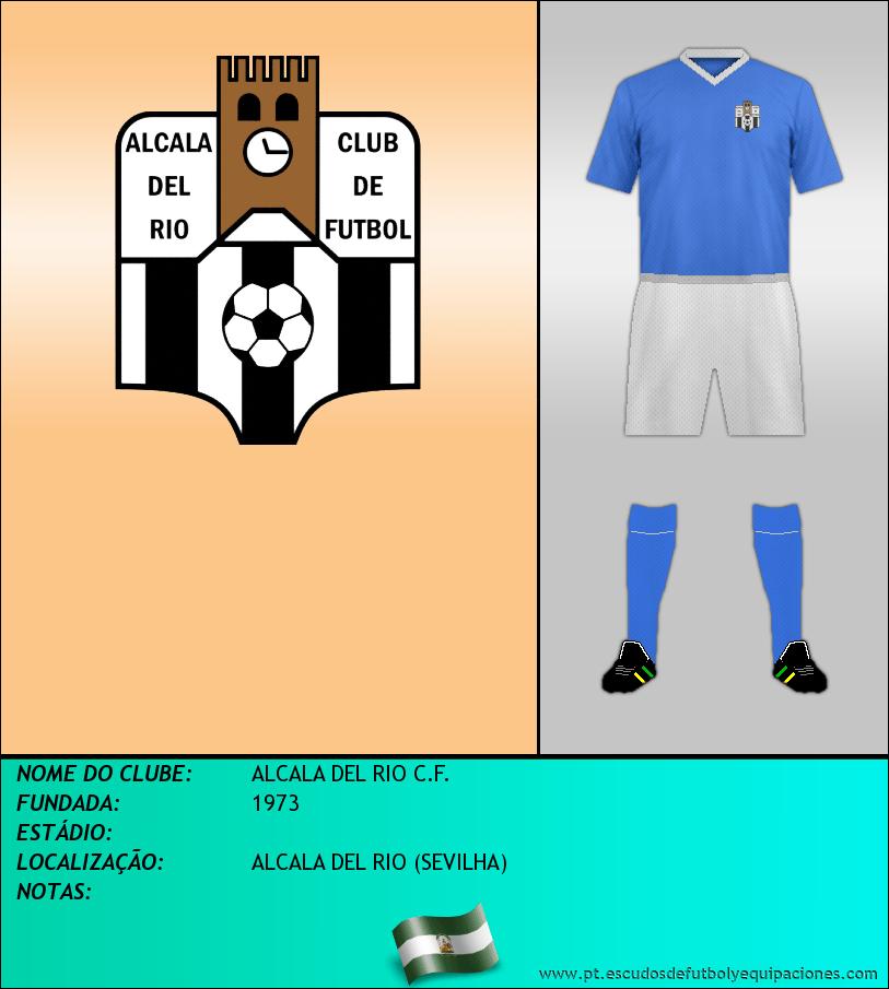Escudo de ALCALA DEL RIO C.F.